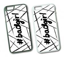 iPhone BADGIRL Hard Tasche Flip Hülle Case Cover Spruch