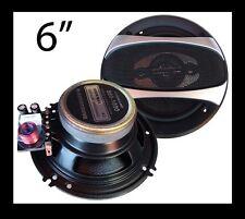 """Altavoces fibra carbono 15cm - 6"""" Blastersound con Separador de Vias Para Coche"""