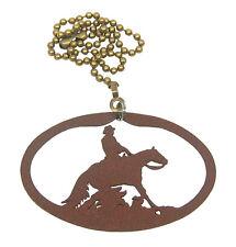 Reining Horse Fan Pull - Ornament
