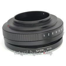 Tilt Canon EOS EF Lens to Fuji FX Mount Camera Adapter Ring For Fujifilm X-T1
