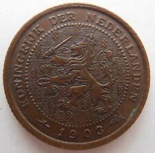 NETHERLANDS 1/2 CENT 1903