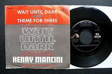 "7"" Henry Mancini - Wait Until Dark - US RCA  Audrey Hepburn"