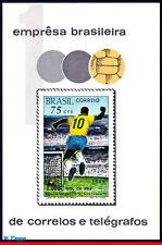 1145 BRAZIL 1970 - 1,000th GOAL BY PELE, SOCCER, MI# B26 RHM B-28, S/S MHN
