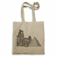Louvre Museo PARIS FRANCIA Travel Il mondo Tote Bag c503r