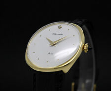 LIMITED OFFER! New Old Stock THERMIDOR PARIS stone mechanical vintage watch NOS