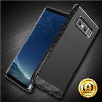 For Samsung Galaxy Note 8 Case Slim Armor Brushed Hybrid Shockproof Phone Cover