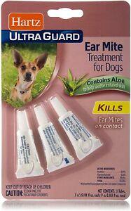 Hartz Ultraguard Ear Mite Treatment For Dogs - 3cc