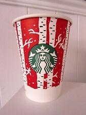 Unused Retro Vintage Starbucks Limited Edition Paper Cup Holidays Christmas