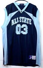 All State 03 Basketball Jersey - XL - Delf USA - Slam Dunk Sportswear Navy Blue