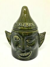P & K CUCUMBER FACEPOT  / Vintage 1970s Kitchenware