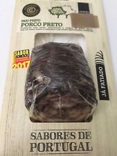 Yummy Sliced Portuguese BLACK PORK LOIN PAIO (Smoked Black Pork Sausage) Garvão