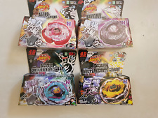 4 PCS NEW 2017 Beyblade 4D/5D Fusion Top Metal Master Rapidity Fight Launcher