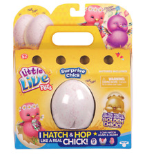 Little Live Pets Surprise Hatching Chick NEW Golden Blue White Purple Pink Authe