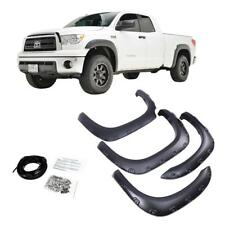 Fender Flares For 2007-2013 Toyota Tundra 4Pc Wheel Cover Set Textured Black