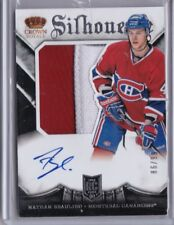 Nathan Beaulieu 2015 Panini Crown Royale Silhouettes Jersey/Auto #147, 86/99