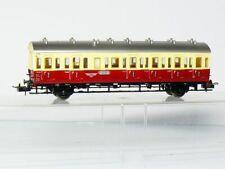 Trix  3755 DC H0 Privatbahn-Abteilwagen Bc 2./3.Kl., rot/beige wie neu in OVP