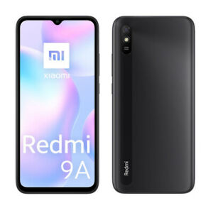 "Cellulare Smartphone Xiaomi Redmi 9A 2+32GB 6.53"" Granite Grey Dual Sim ITA"