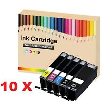 50 Ink Cartridges for Canon Pixma IP7250 IP8750 IX6850 MG5450 MG5550 MG5650 P