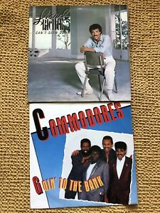 LIONEL RITCHIE - CANT SLOW DOWN LP  RECORD COMMODORES - GOIN' TO THE BANK 12""