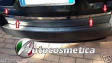 Profilo Cornice Acciaio Cromo Portabagagli Inferiore  Portellone BMW X3 03-2010