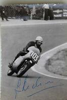 27093 Moto Rennen Foto Autografo Jim Redmann Rodi 1962 Autografata Honda