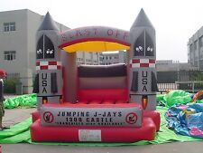 MASSIVE JUMPING CASTLE SALE - 4mx4m Castle Blast Off Theme ** Commercial ** NEW