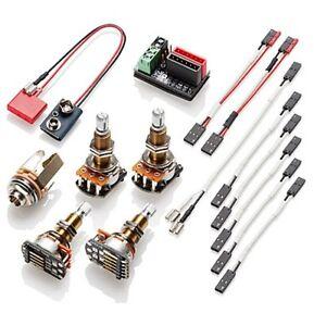 EMG- Solderless wiring kit 1 or 2 pickups- long shaft