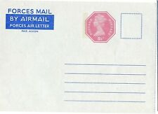 GREAT BRITAIN AEROGRAMME FORCES STO, 2.5p, KFG-75, VERY CLEAN           (C55)