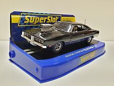 Slot SCX Scalextric Superslot H3936 Dodge Charger Black Gloss