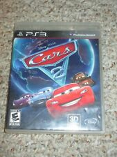 Cars 2: The Video Game (Sony PlayStation 3, 2011) w/ Case