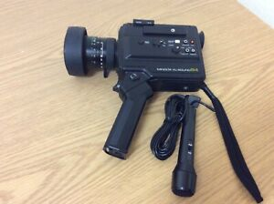 Minolta XL Sound 84 Super 8 Camera & Microphone Works!