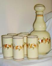 Ceramica di Grottaglie - primi anni '80/servizio vino/acqua/bottiglia decorativa