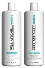 Paul Mitchell Instant Moisture Shampoo and Conditioner 33.8 oz