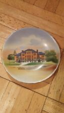 Wheelock Pottery Made In Germany Woodstock Vermont School Collectible Dish