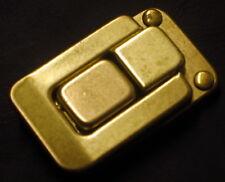 2 KOFFERSCHLOSS Verschluss NEU Taschenverschluss LEDER Klappverschluss KOMPLETT#