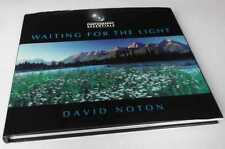 David Noton: Photography Essentials: Waiting for the Light . SIGNED Hardback