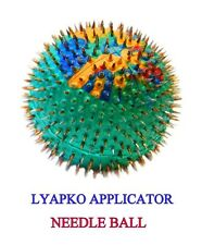 "LYAPKO APPLICATOR ""NEEDLE BALL"" Acupuncture massager. Silver needles"