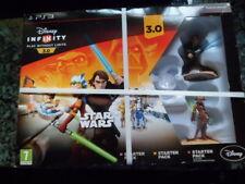 Disney Infinity 3.0 Star Wars Starter Pack Nuevo Precintado PS3 Aventura Acción