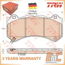FRONT DISC BRAKE PAD SET JEEP FOR NISSAN GRAND CHEROKEE IV WK WK2 GT-R R35 TRW