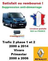 Boitier antidémarrage Supprime l'anti-demarrage des Renault Trafic 2, Vivaro