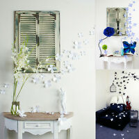 Hot 12pcs 3D Wall Sticker Stickers Beauty Flower Home Decor DIY Room Decoration