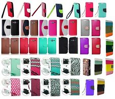 Wallet Case Cover for Samsung Avant SM-G386T SM-G386T1 / Galaxy Core SM-G386F
