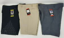 New Dahui Men's Hybrid Stretch Board Shorts with Drawstrings in Black Khaki Grey