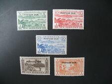 Nouvelles-Hébrides  Stamps French Colonies Taxe N° 41 à 45   neuf **  à voir