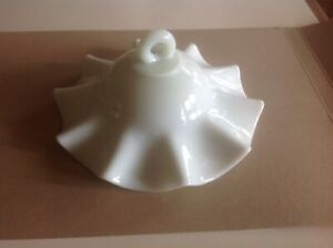 Vintage Smoke Bell - Milk Glass house cleanout Maine