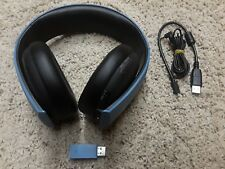 PS4/PS3 Playstation 3 Gold Wireless Headset Uncharted 4 Limited Edition