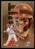 2020 Contenders Gold Rush #GR1 Mike Trout - Los Angeles Angels SSP