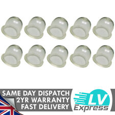 10 x Fuel Primer Bulb Bubble Clear Replacement 19mm Lawnmower Strimmer Chainsaw