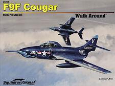 200v/Squadron signal-walk around 68-f9f Cougar-Topp cuaderno