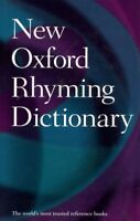 New Oxford Rhyming Dictionary, Hardcover by Oxford University Press (COR), Br...
